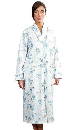 La Marquise Womens/Ladies Nightwear/Sleepwear Floral Print Quilted ...