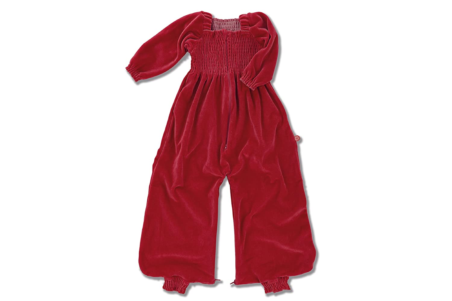4e3616af8b3a Baby Boum 624m Cotton Rich Velvet Winter Sleeping Bag Cum Jumpsuit from the  Frill collection (Raspberry Red)  Amazon.co.uk  Baby