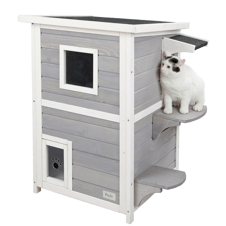 Amazon.com: Cat Houses & Condos - Cat Trees & Condos: Pet Supplies