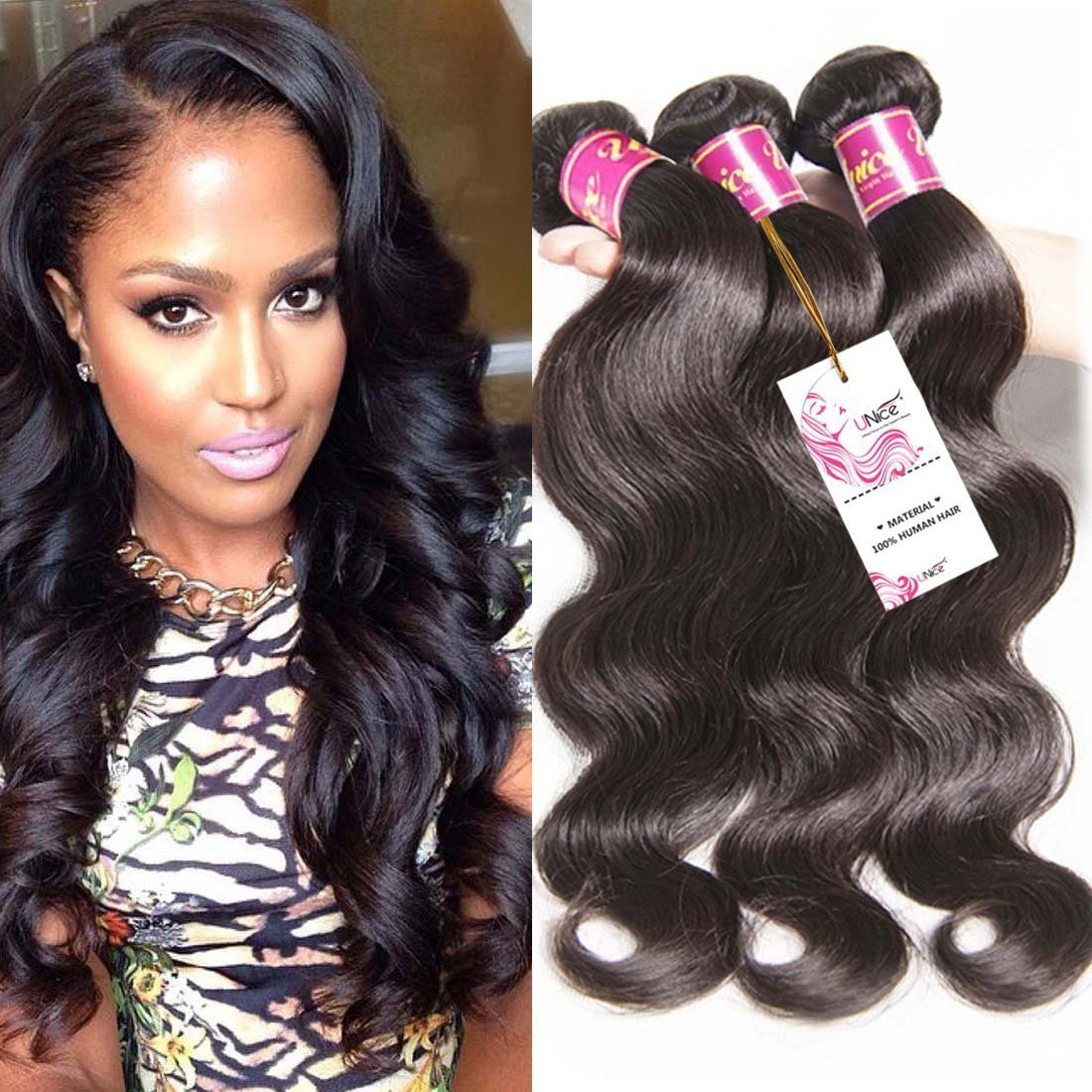 Amazon Unice Hair 22 20 18inch Brazilian Virgin Human Hair