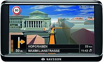 Navigon  Inch Sat Nav With  European Maps