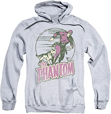 The Phantom Comic PHANTOM AND DOG Licensed Adult Sweatshirt Hoodie