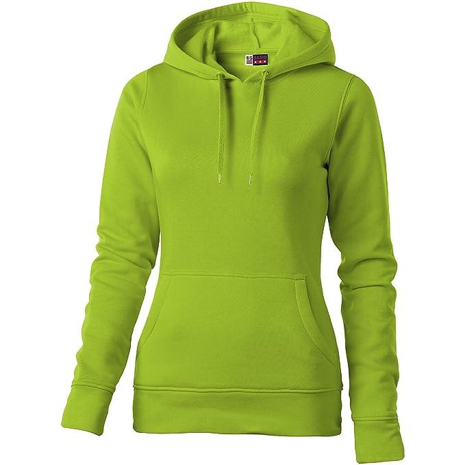 9954b5aece6b US BASIC –  quot Jackson quot  Hooded Damen Pullover Gr. Small, Grün -