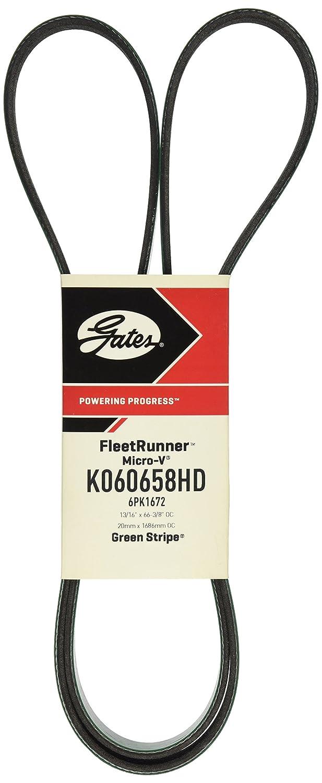 0.62 Width 65 Length D/&D PowerDrive 7-5H650 Prime Line Kevlar Replacement Belt