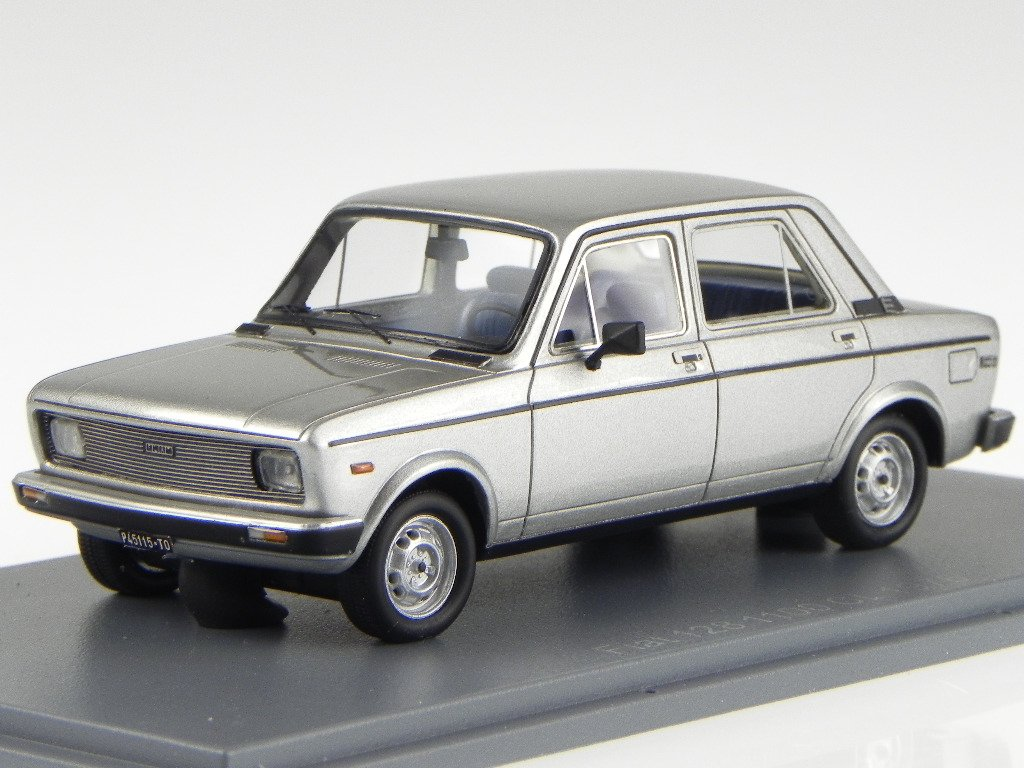 Fiat 128 1100 CL 1976 silber silber silber Modellauto 45115 Neo 1:43 98d71f