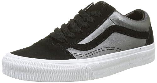 vans old skool leather sneaker donna