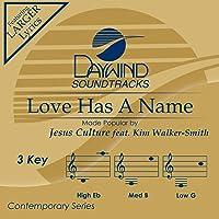 Love Has A Name [Accompaniment/Performance Track]