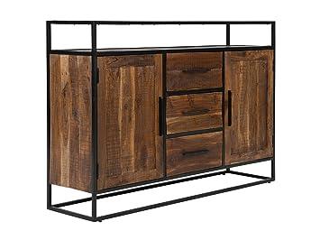 Massivum Sideboard Oklahoma 150x105x40 Cm Aus Akazien Holz Massiv
