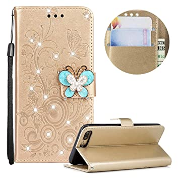 coque iphone 8 plus clapet strass