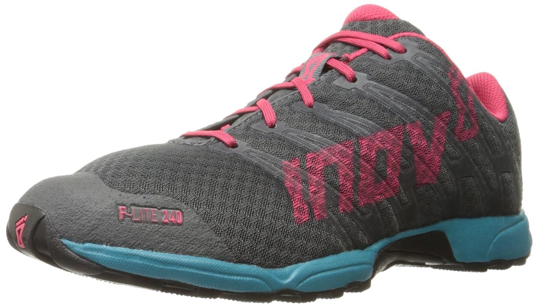 Inov-8 Unisex F-Lite(TM) 240 Cross-Training Shoes B01B26W292 M4.5/ W6.0|Grey/Teal/Berry