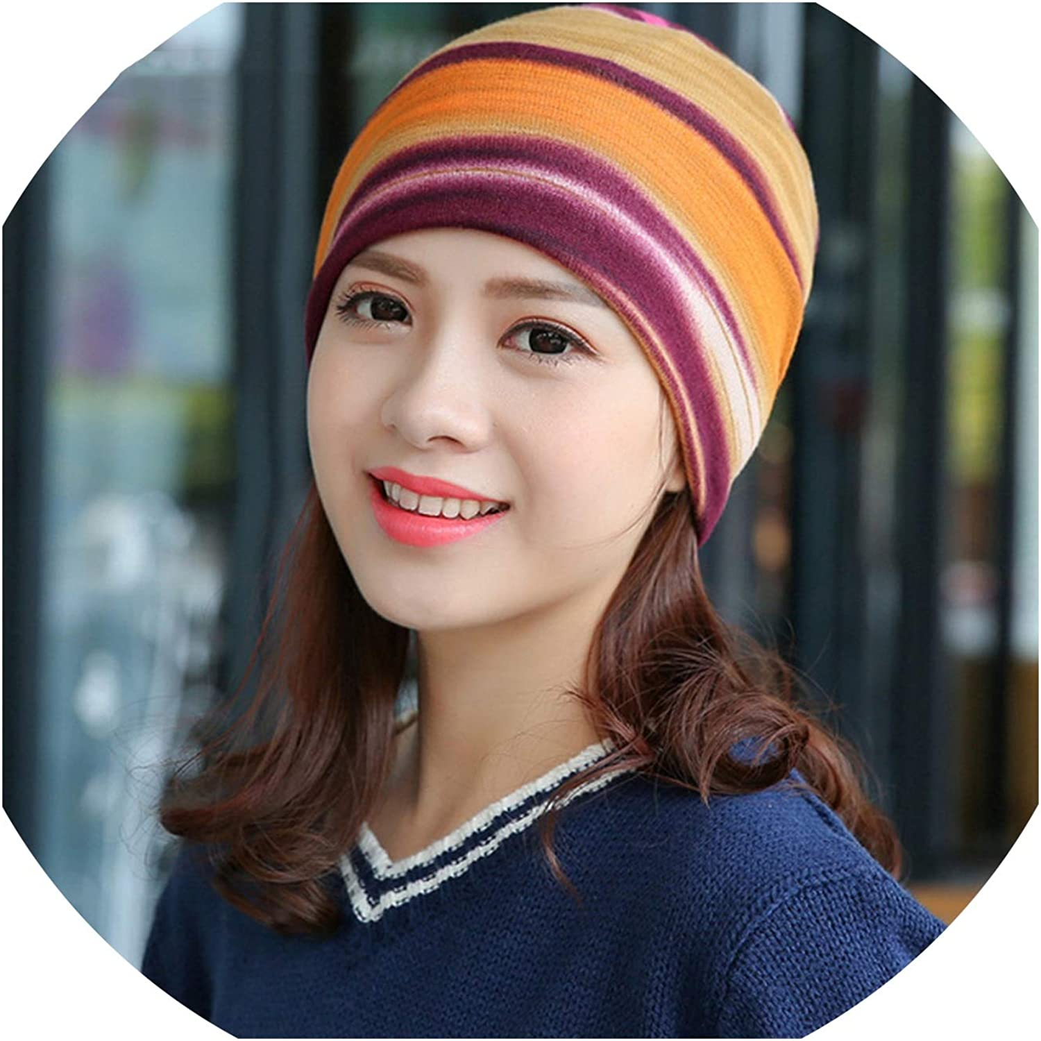 Hat Women 3 Use Cap Knitted...