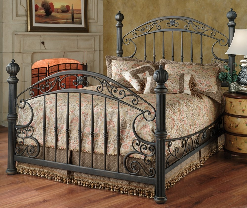Amazon.com: Hillsdale Furniture 1335BQR Chesapeake Bed Set with ...