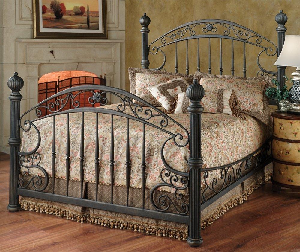 Amazoncom Hillsdale Furniture 1335BKR Chesapeake Bed Set with