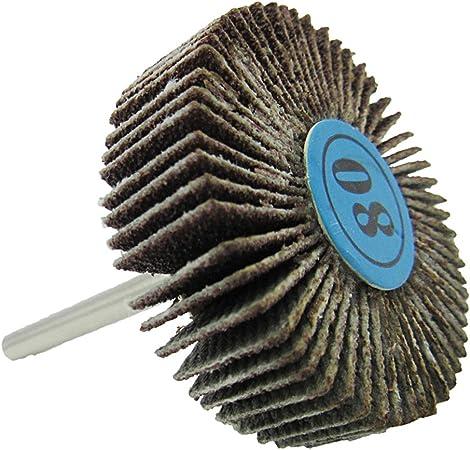 Papier Abrasif Ponçage à Rabat ponçage disque Set de polissage roue 5pcs Dremel accessoires