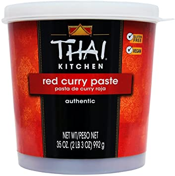 Thai Kitchen Red Curry Paste | Amazon Com Thai Kitchen Red Curry Paste 35 Oz Grocery Gourmet