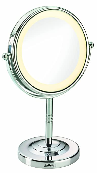 554 opinioni per BaByliss 8435E Specchio Luminoso, Rotondo, Ingrandimento x 5