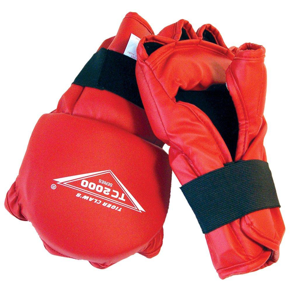 Tiger Claw手袋 – tc2000 Series – Red B0000C5FZ4  Child