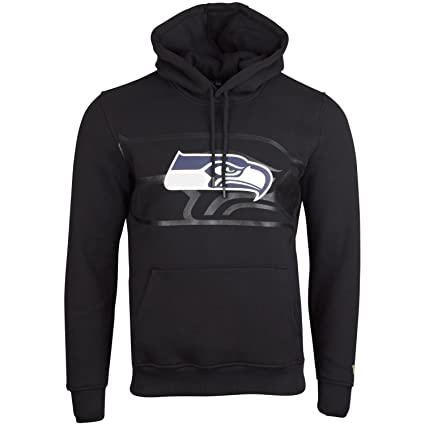 New Era Fleece Hoody NFL Seattle Seahawks 2.0 schwarz