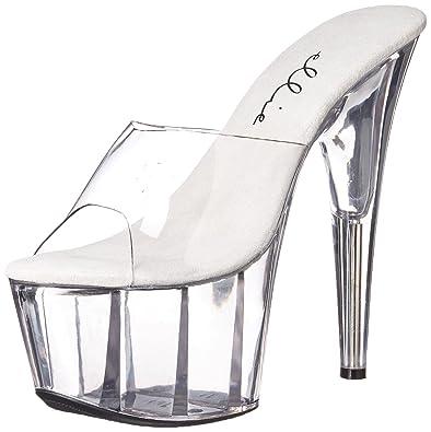 5e7d21f14414 Ellie Shoes Women s 709-vanity Platform Sandal Clear 7 ...