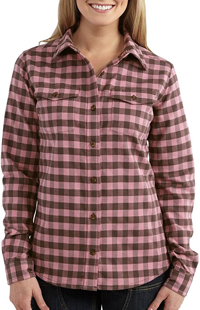 Carhartt Women's Hamilton Flannel Shirt: Clothing