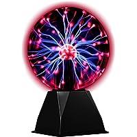hivoltage Plasmabol/plasmaball - magische flitsen in een glazen bol - Ø 20 cm, 3500 lumen