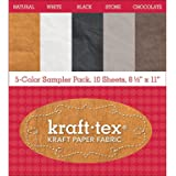 C&T Publishing Fab PackAstd C&T Kraft Tex Paper Fabric Sampler Pack