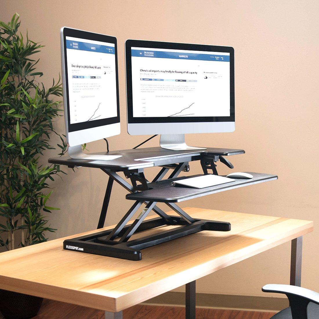 FlexiSpot Standing Desk Hight Adjustable Desk Riser