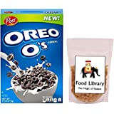 FOOD LIBRARY THE MAGIC OF NATURE 311g Post Oreo O's Breakfast Cereal with 100g Food Library Raisins