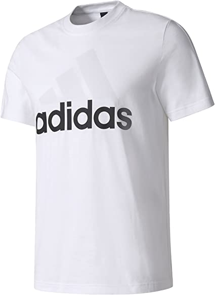 adidas ESS Linear Tee T Shirt, Homme