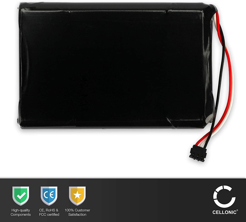CELLONIC 2X Qualit/äts Akku kompatibel mit Garmin Edge 800 KE37BE49D0DX3 1000mAh Werkzeug-Set Ersatzakku Batterie Edge 810