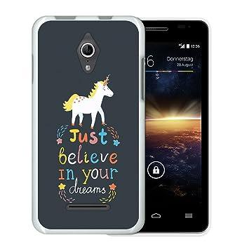 WoowCase Funda Vodafone Smart 4 Turbo, [Vodafone Smart 4 Turbo ] Funda Silicona Gel