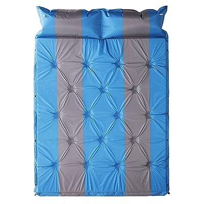 Épaississement de 3CM Double Coussin gonflable automatique de plein air Tapis de tente Coussin anti-humidité camping  Lit gonflable 192 * 132 * 3cm