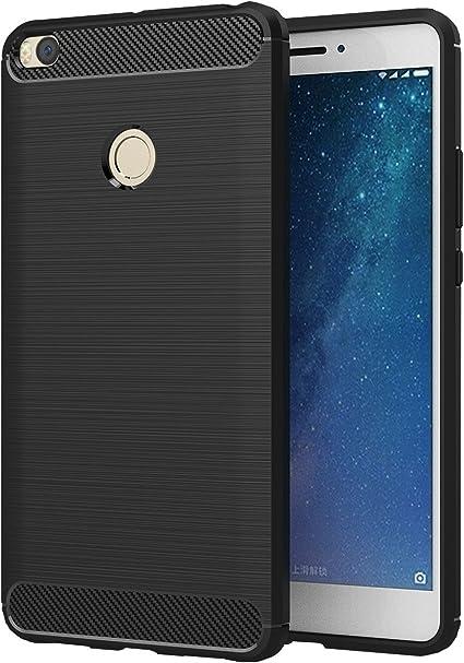 XiaoMi Mi Max 2 Funda, SMTR Cubierta Delgado material de silicona ...