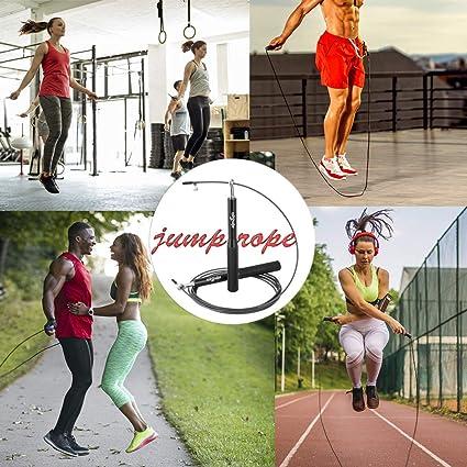 Amazon.com: Cuerda de saltar alpsegis para mujeres y hombres ...