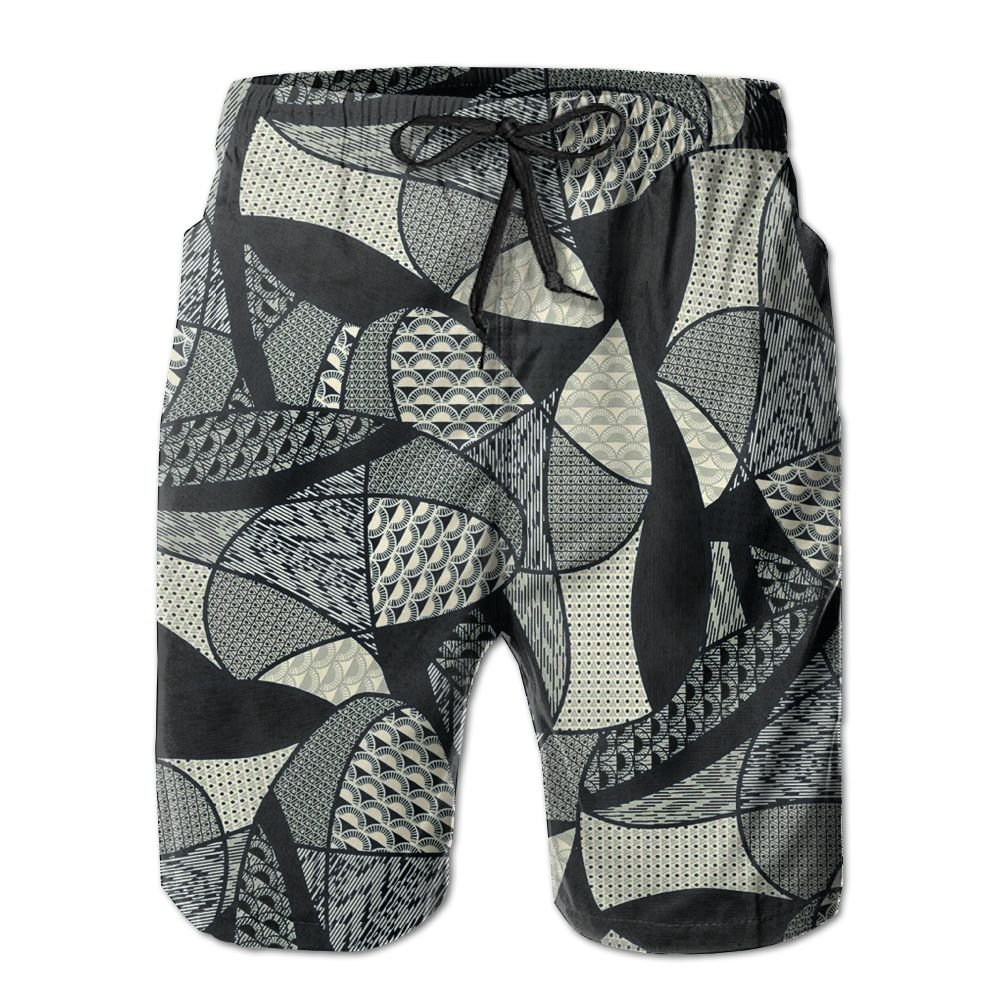 Men Swim Trunks Classic Fine Design Quick Dry Beach Board Shorts