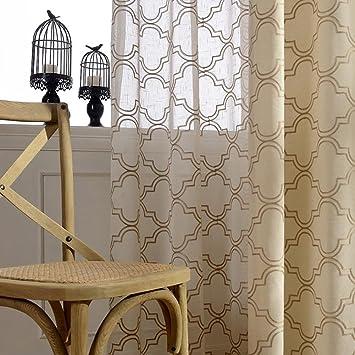 Tine Home Vorhang Vorhange Drapes Vorhange Gardinen Rot Beige