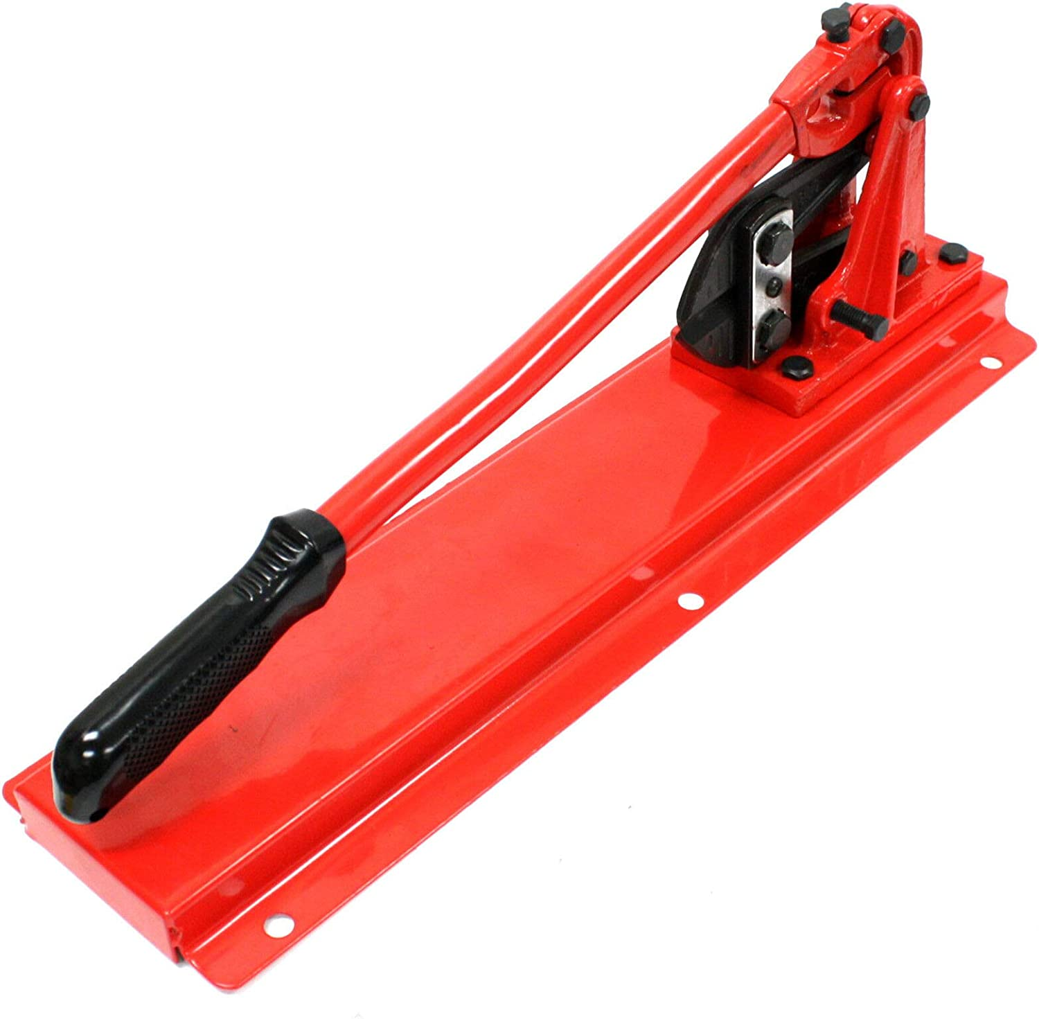 """24/"""" Bench Type Swaging Tool w// Bolt Cutter Head Swager Wire Rope Aircraft Cable"""