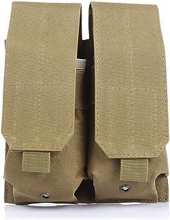 Fjiujin,Phonebag Portable Extérieur Molle Attachment Bag Imperméable en Nylon Militaire Poche À Téléphone(Color:Noir)
