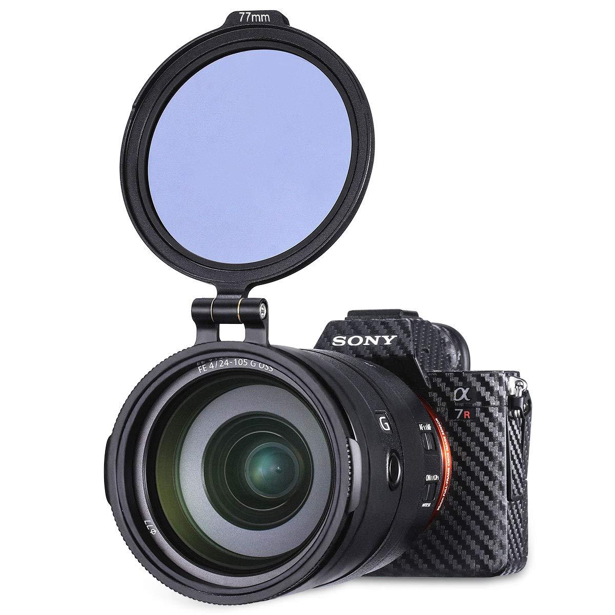 Staffa di montaggio filtro ND interruttore rapido in alluminio 67 mm anello adattatore per obiettivo rapido accessori fotografici compatibili per Canon Nikon Sony Olympus DSLR