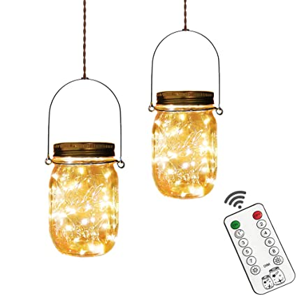 Amazon.com: Yitee 8 luces LED de cuerda, funciona con pilas ...