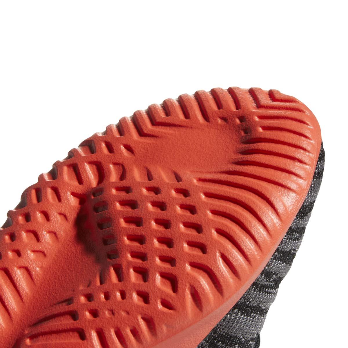 adidas Originals Kids Boy's Tubular Shadow C (Little Kid) Black/Grey/Hi-Res Red 2.5 M US Little Kid