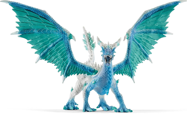 Schleich North America Dragon Ice Hunter Figure Figure