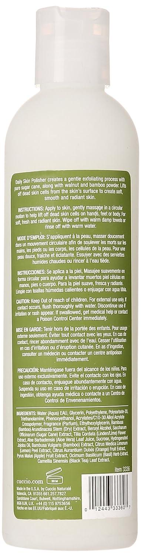 Amazon.com : Cuccio Daily Skin Polisher, White Limetta and Aloe Vera, 8 Ounce : Beauty