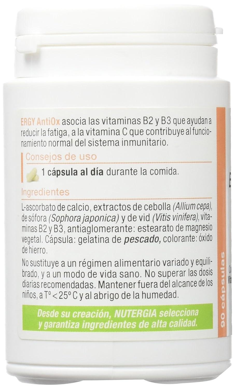 NUTERGIA - ERGYANTIOX 90cap NUTERGIA: Amazon.es: Salud y cuidado personal