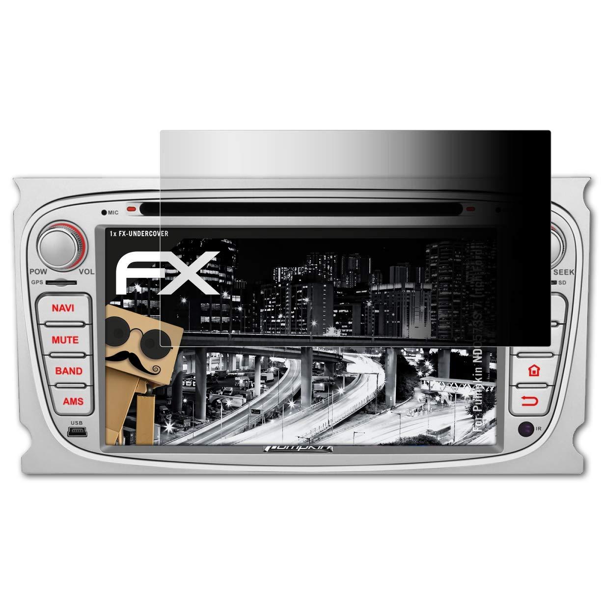 4-Wege Sichtschutz FX Schutzfolie atFoliX Blickschutzfilter f/ür Pumpkin AE0373B 8 Inch VW Series Blickschutzfolie
