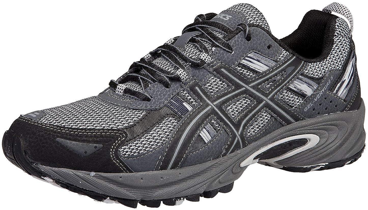 Silver Onyx Black ASICS Men's Gel Venture 5 Running shoes