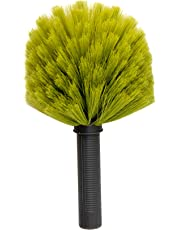 DocaPole Cobweb Duster//Ceiling and Corner Duster//for Dusting and Cleaning High Ceilings and Corners with Extension Pole//Includes Handle for Use Without Pole//DocaPole Cleaning Attachment…