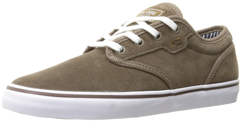 Globe Men's Motley Skate Shoe 7 D(M) US|Walnut/White