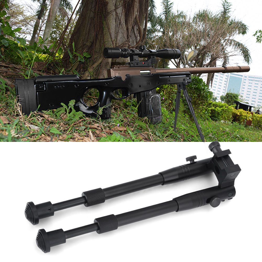 Hunting Rifle Bipod Tactical 6'' To 9'' Bipod Adjustable Spring Return Bipod Swivel Holder Mount for Rifle Hunting by Vbestlife (Image #6)