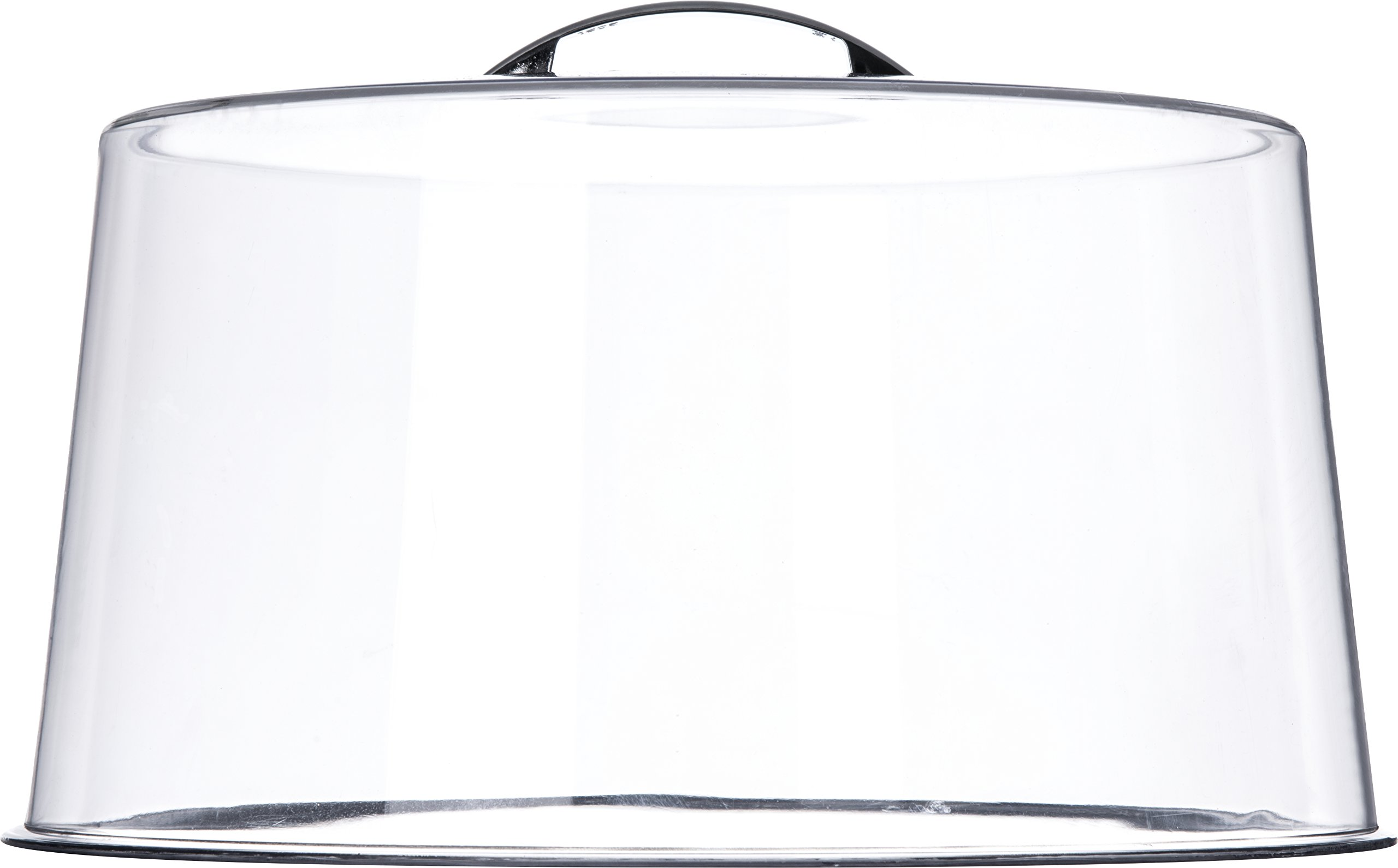 Carlisle 251207 Shatterproof 12'' Cake Cover / Dome, 6'' High (Pack of 6) by Carlisle (Image #1)